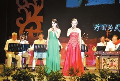 女声合唱《微山湖》